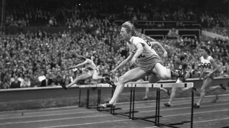 Fanny Blankers-Koen was the first woman to win four medals in a single Olympics [File: Keystone/Getty Images]