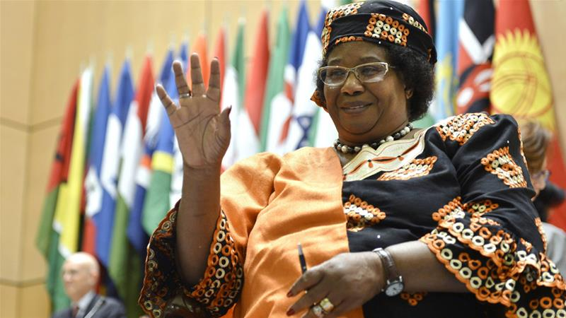 Malawi's ex-president Banda returns after four-year absence
