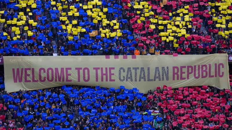 FC Barcelona has said it will 'continue to support the will of the majority of Catalan people' following Catalonia's latest referendum on independence from Spain [Miquel Llop/NurPhoto/Getty Images]