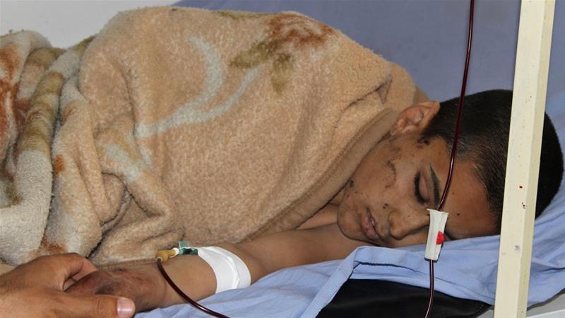 Afghan air attack 'kills children' at Kunduz religious school