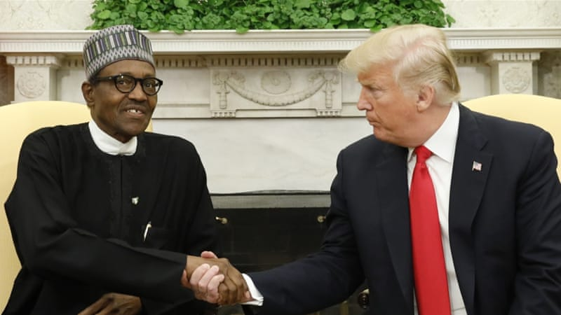 Trump calls on Nigeria to remove trade barriers