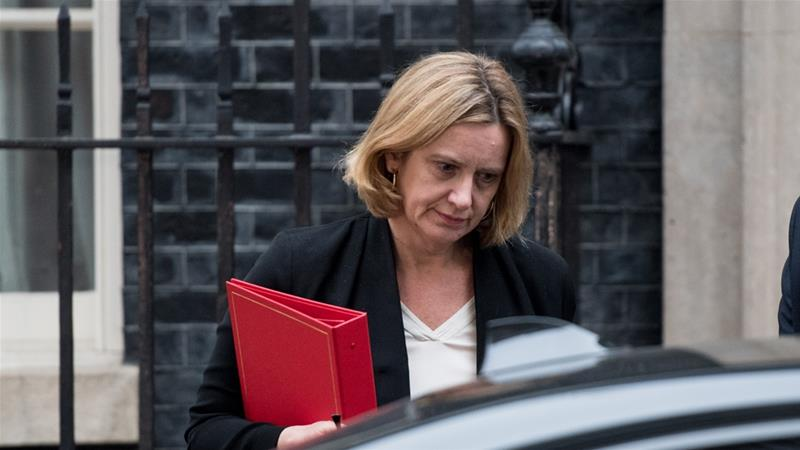 Amber Rudd resigned for 'inadvertently' misleading legislators about the existence of deportation targets for illegal immigrants