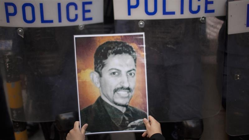Al-Khawaja was sentenced to life in prison in 2011 charges of 'supporting terrorism' [Reuters]
