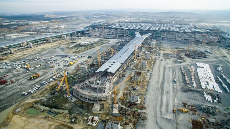 istanbul world s biggest airport project on time turkey news