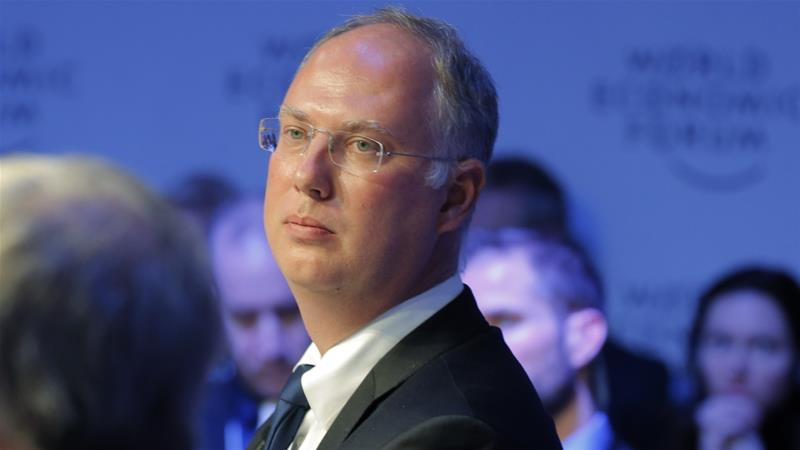 Kirill Dmitriev controls Russia's sovereign investment fund and sits on the board of Putin's daughter's company [Michel Euler/The Associated Press]
