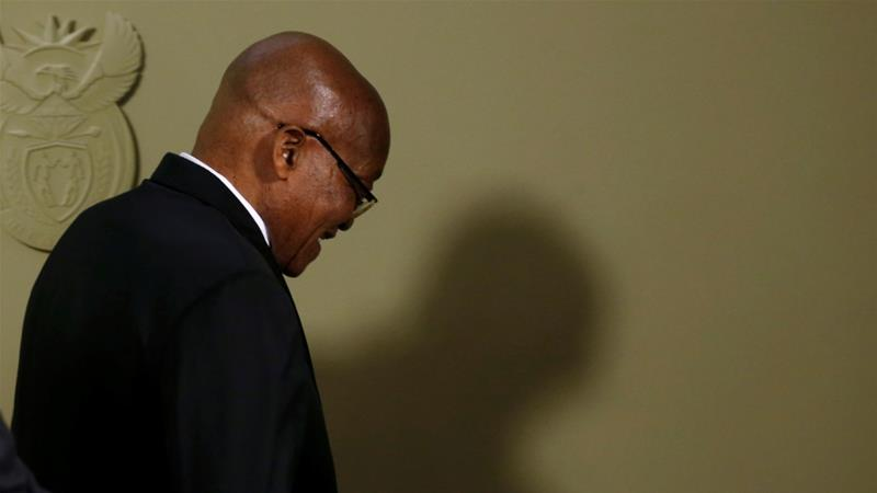 Zuma faces 16 charges of corruption, fraud and racketeering [Reuters]