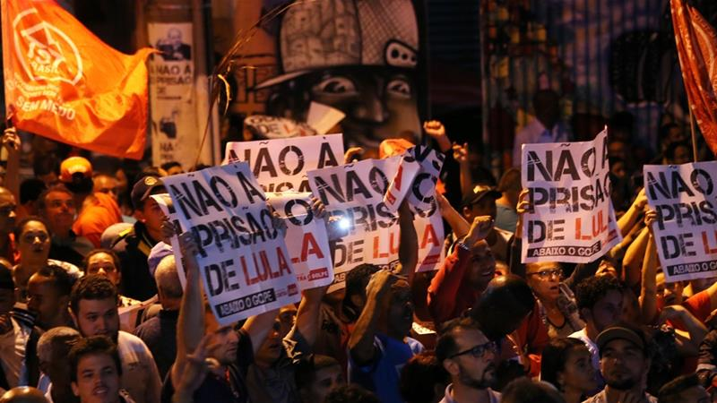 Arrest warrant issued for Brazil ex-President Lula da Silva