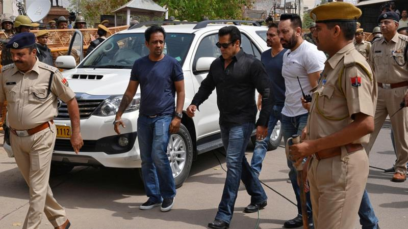 Bollywood Star Salman Khan Granted Bail in Poaching Case