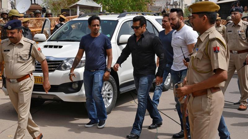 Bollywood Star Salman Khan Granted Bail in Poaching Case