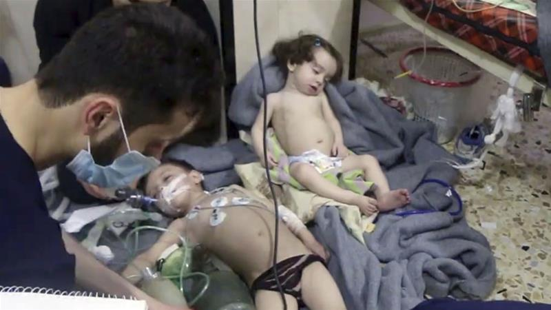 How can chemical assaults in Syria be stopped?