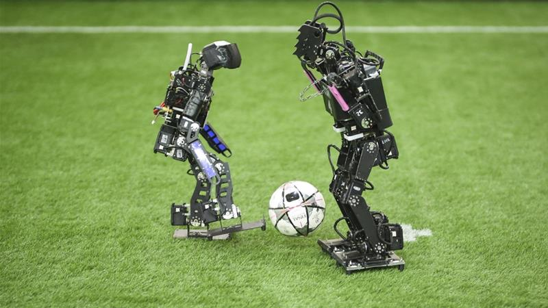 Local and international teams face off at RoboCup Iran Open
