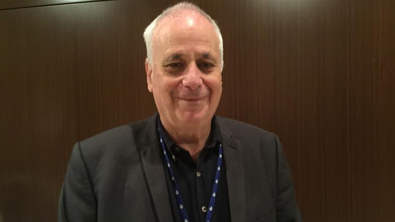 Ilan Pappe says Israelis have a false sense of security as they ignore the plight of Palestinians [Ali Younes/Al Jazeera]