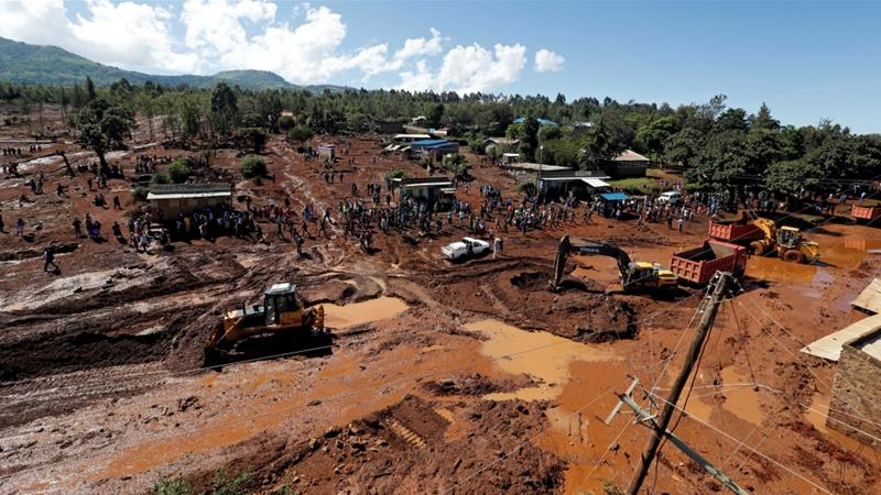 More than 30 killed in Kenya after dam collapse
