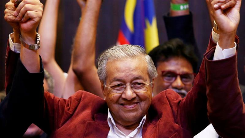 Mahathir served as Malaysia's prime minister for 22 years from 1981 to 2003 [Lai Seng Sin/Reuters]