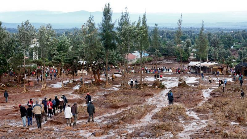 Search for survivors after deadly Kenya dam collapse