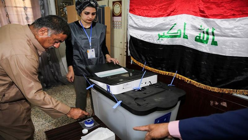 The move could undermine shia leader Muqtada al-Sadr whose Sairoon Alliance won the May 12 parliamentary election [AFP]
