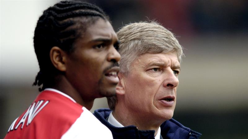 In 1999, Wenger set a new English transfer record in signing Kanu [Reuters]