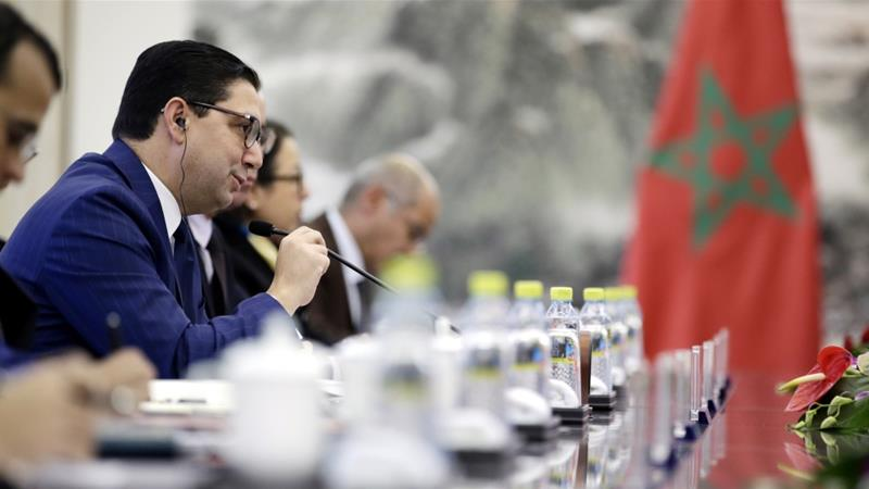 Morocco's foreign minister told reporters that Algeria offered more than a meeting venue for members of the Polisario and Hezbollah [Jason Lee/EPA-EFE]