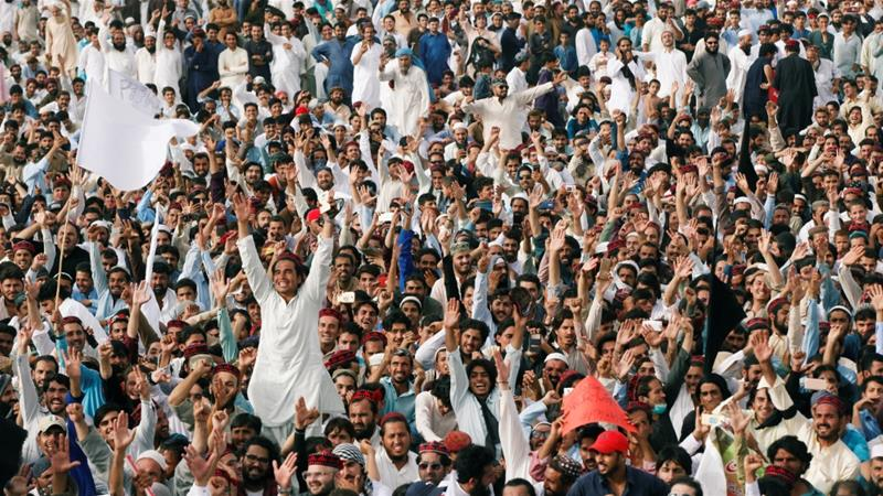 Thousands rally in Pakistan's Karachi for Pashtun rights