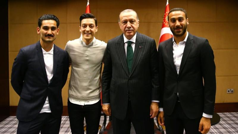 Image result for erdogan ozil and gundogan