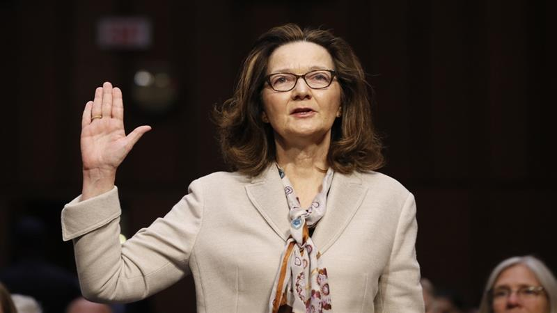 Haspel said at a confirmation hearing last week the US will 'never, ever' resume a programme using torture [File: Alex Brandon/AP]