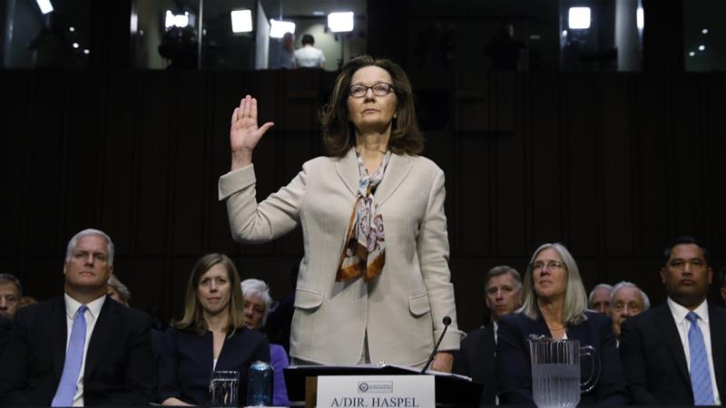US Senate panel approves Central Intelligence Agency  nominee Gina Haspel despite torture background