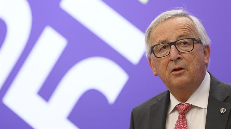 Jean Claude Juncker of Euoropean Commision