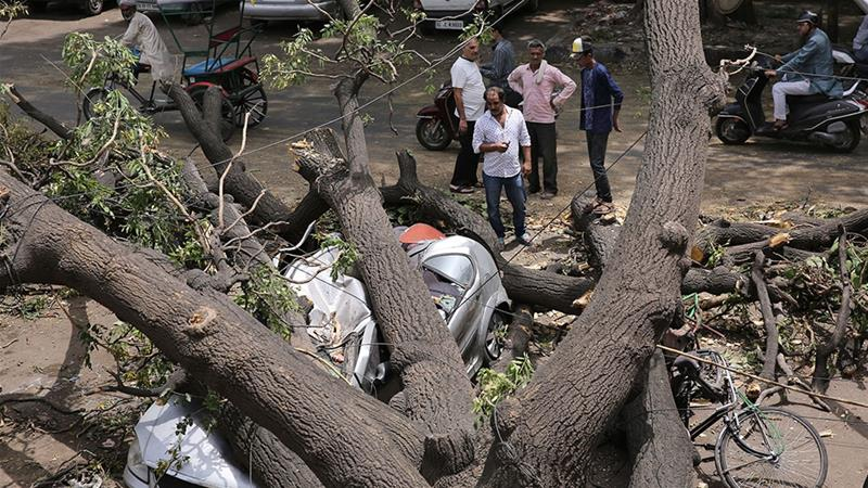 Pre-monsoon storms hit South Asia