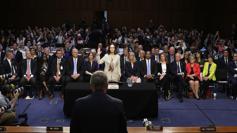 US Senate announces Gina Haspel as first woman CIA director