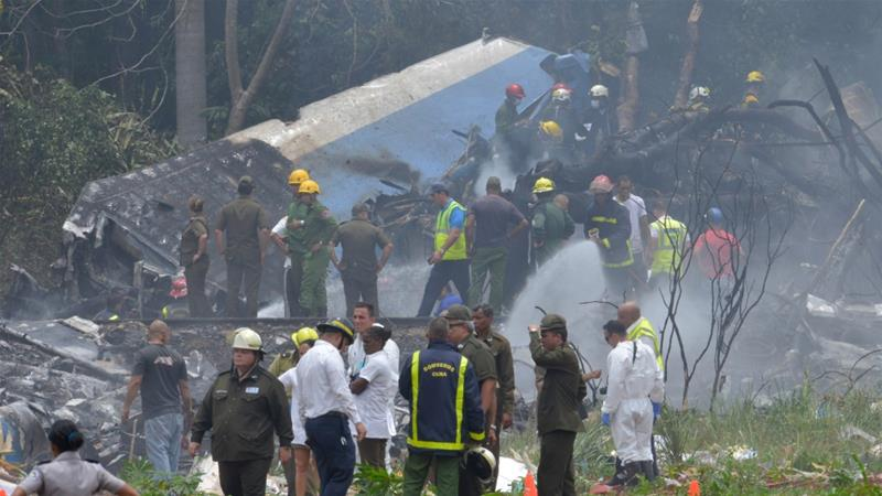 Cuba: Three survivors after plane with 110 aboard crashes