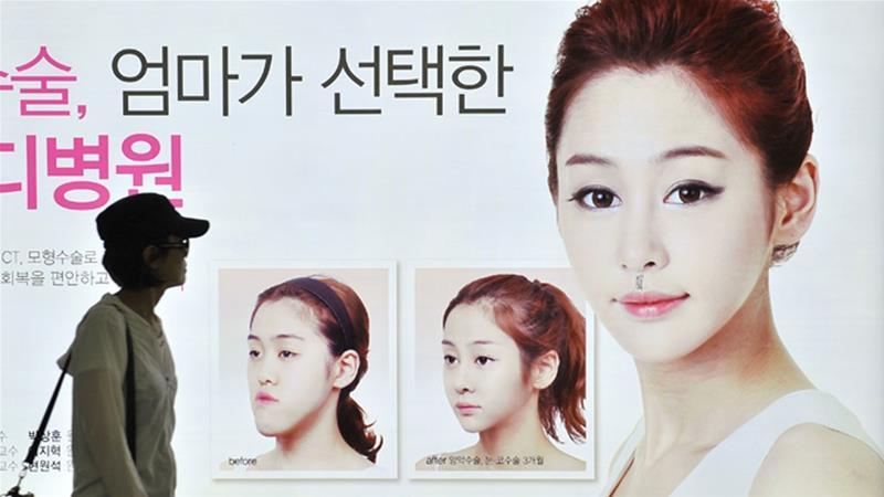 South Korea's plastic surgery market is worth $5bn [Al Jazeera]