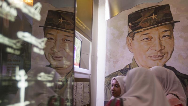 General Muhammad Soeharto ruled Indonesia for more than three decades, from 1967-1998  [File: Dwi Oblo/Reuters]