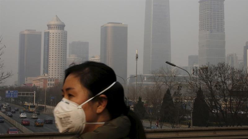 Polluting industries like transportation and intensive agriculture play a big role in pollution [File: Kim Kyung-Hoon/Reuters]