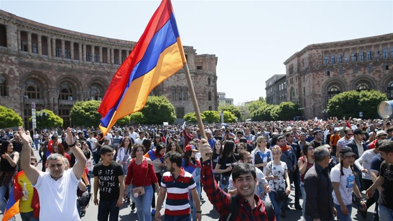Polls close in Armenia's early parliamentary election