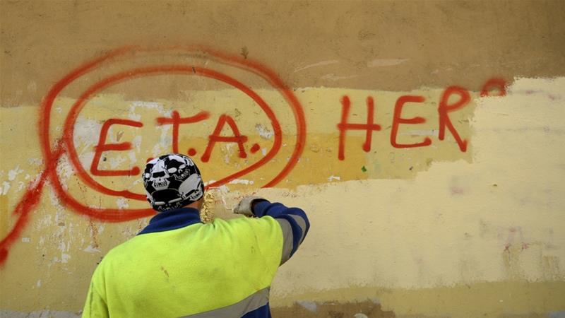 ETA, which in Basque language stands for Basque Homeland and Liberty, was founded in 1959 [Vincent West/Reuters]