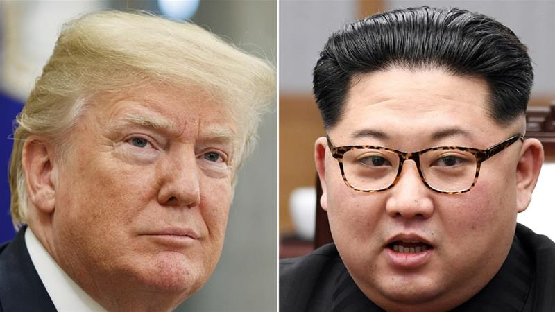 China had said on Wednesday that it hoped the Trump-Kim summit will take place as scheduled on June 12 [Evan Vucci/AP]