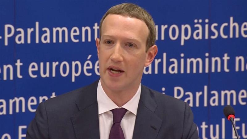 Zuckerberg apologised to the European Parliament for the