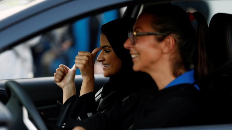 As of June 24, women will be allowed to drive for the first time in the kingdom, 'in accordance with the Islamic laws' [File: Reuters]