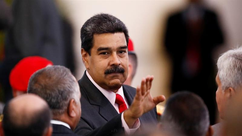 Maduro won 68 percent of the vote in Sunday's election [Marco Bello/Reuters]