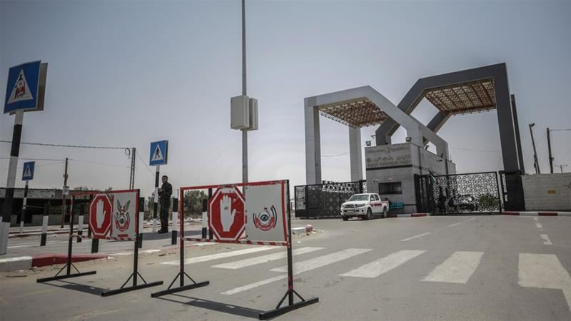 Rafah border crossing is the main access point for Gazans facing a punishing Israeli blockade [Mohammed Saber/EPA-EFE]