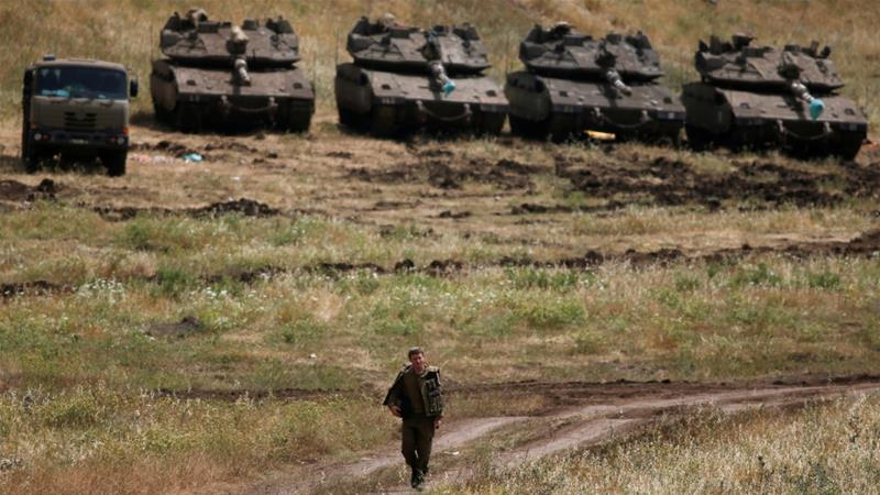 Israel urges United States to recognize hold on Golan