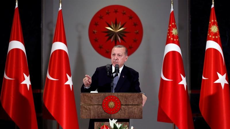 Erdogan must contend with a falling Turkish lira and concerns about the economy [File: Reuters]