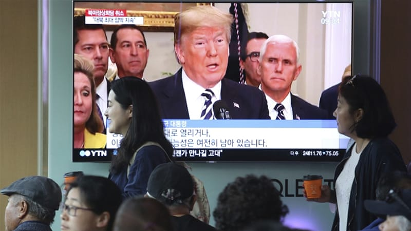 Trump pulls out of summit with North Korea's Kim Jong-un