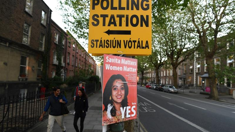 Ireland abortion referendum: Country votes on easing strict law