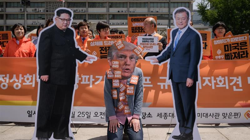 Disappointment in South Korea as Trump nixes summit with Kim