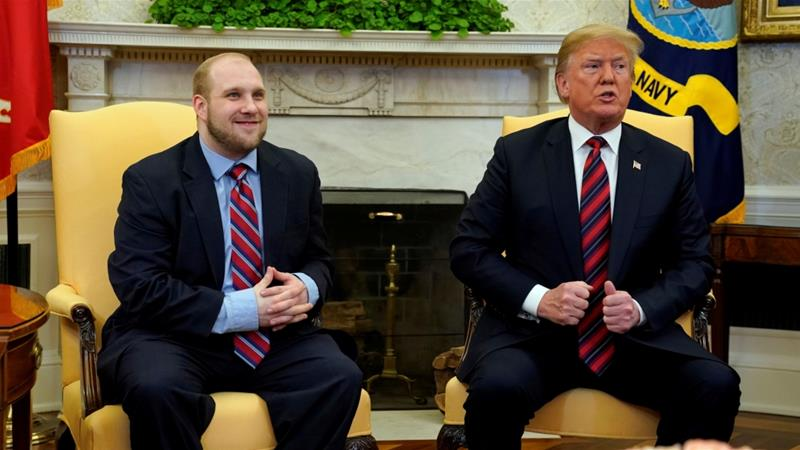 American 'hostage' Josh Holt has been released from Venezuela, Trump says