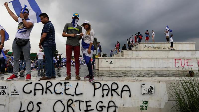 Nicaragua protests: Thousands renew calls for Ortega to resign