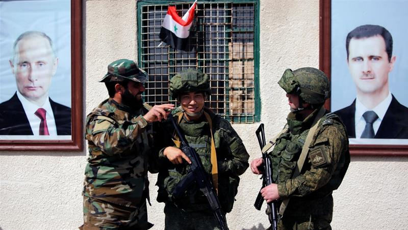 Four Russian servicemen killed in Syrian militant raid