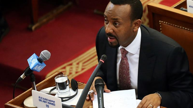 Abiy Ahmed needs to use the popularity and approval he gained to start a meaningful dialogue with political opposition at home and abroad, writes Gedamu [Reuters]