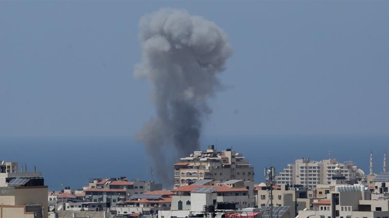 Israel launches counterattacks in Gaza amid soaring tensions